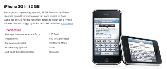iPhone 3G S Specifications Leaked