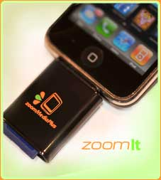zoomIt: Read SD Cards On Your iPhone