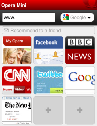 Opera Mini Browser Comes to iPhone