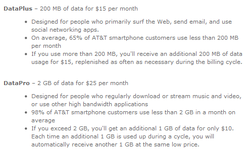 AT&T To Add Tethering To Smartphone Plans