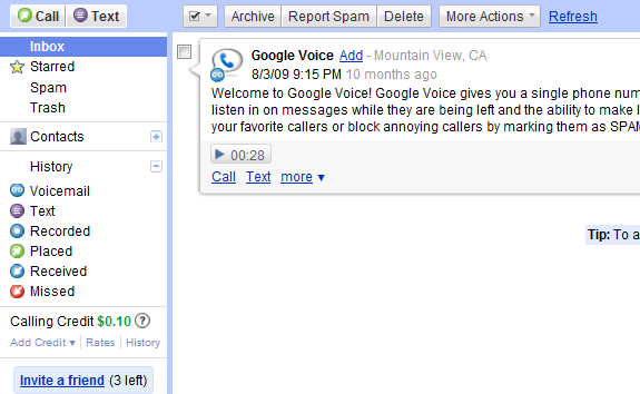 Google Voice on iPhone: Any Chance for Native App?