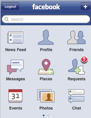 Facebook Places Comes to iPhone