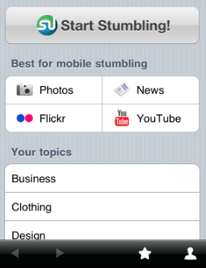 StumbleUpon Now Available for iPhone