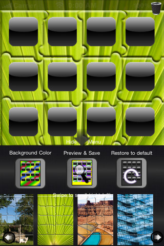 Background Customizer Lets You Customize Your IPhone And Come Up With Own It Has Several Elements To Help Develop Decent Backgrounds