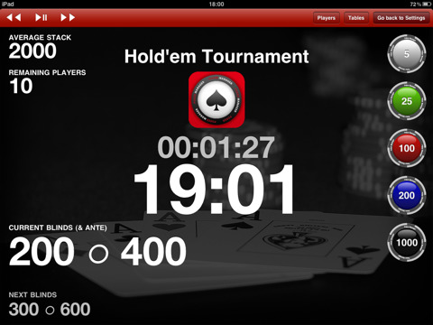 Best poker tournament clock app where is sd card slot on galaxy s4