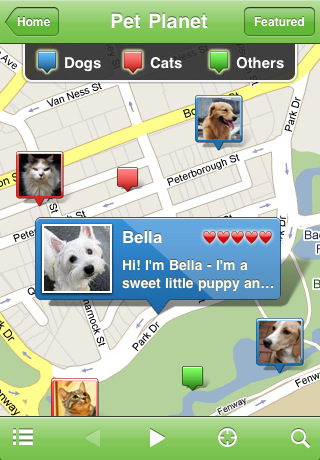 iphone apps for pet owners iphone applications for dogs and cats