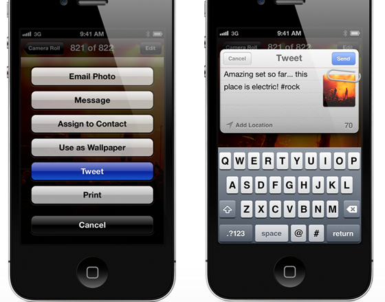 iOS 5 Twitter Integration: Opportunities For All Parties