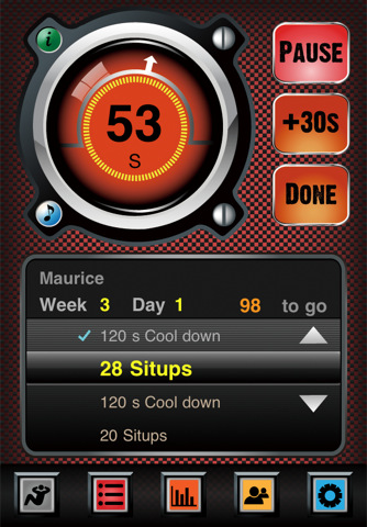 5 Awesome Sit-up Apps for iPhone