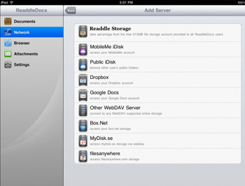 Readdledocs For Ipad Manages Your Attachments Opens Pdf Files And Lets You Manage On