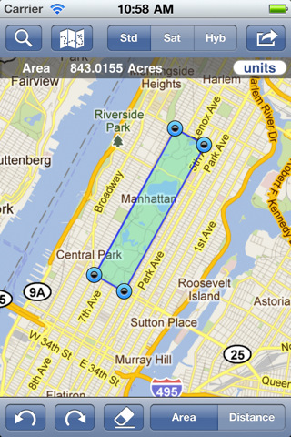 Cool Map Distance Measurement Apps For IOS IPhoneNess - Map your distance