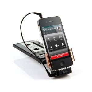 3 Cool Cassette Adapters for iPhone & iPod