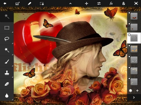 Adobe Photoshop Touch Hits the App Store