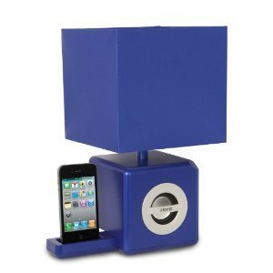 IHome Ambient Lamp Speaker Dock: This Is A Contemporary Light And A Flip  Out IPhone Dock. It Is Portable And Magnetically Shielded. Plays Your Music  Too.