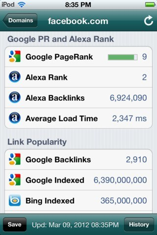 6 Quality iPhone / iPad Apps for SEO