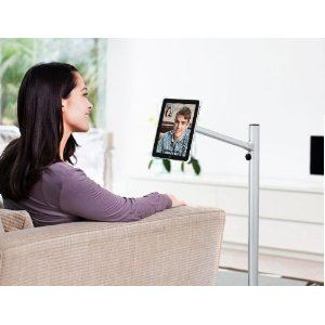 Ipevo Perch Sofa Side Stand Quite A Convenient For Ipad 2 And 3 It Lets You Tilt Rotate Your Has An Aluminum Leg