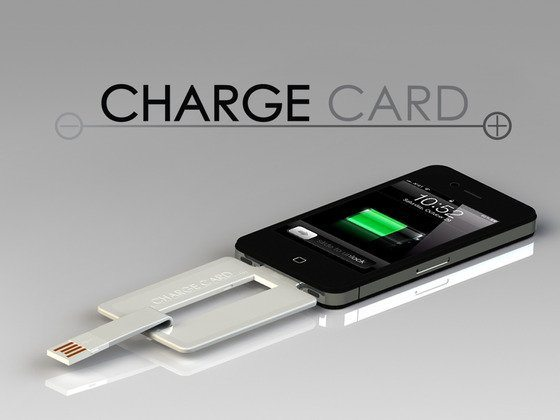 ChargeCard, POP Portable Chargers for iPhone