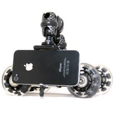 iStabilizer Dolly for Better iPhone Videos, Swipe iPhone Case with Screen Cleaner