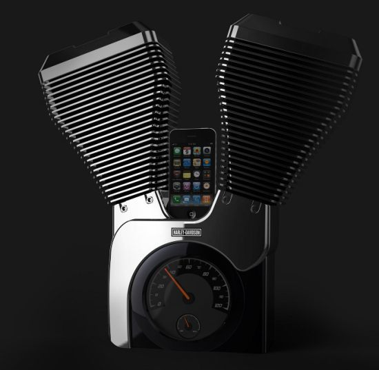 Speaking Of Cool Speakers, The Harley Davidson IPod Speaker Is Quite A  Special Looking Product With Harley Davidson Fans In Mind.