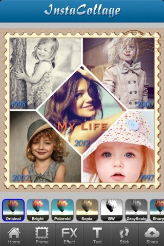 cool pic collage