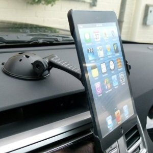 Arkon Multi Surface Mount A Dashboard Window Desk Suction Vehicle For The Ipad Mini It Offers 360 Degree Rotation And Can Hold Your Gadget In