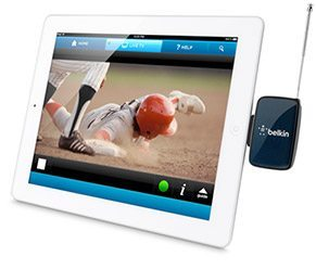 Watch TV on iPhone with Dyle mobile TV by Belkin