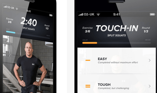 Touchfit: GSP for iPhone – Fitness Training by Georges St-Pierre