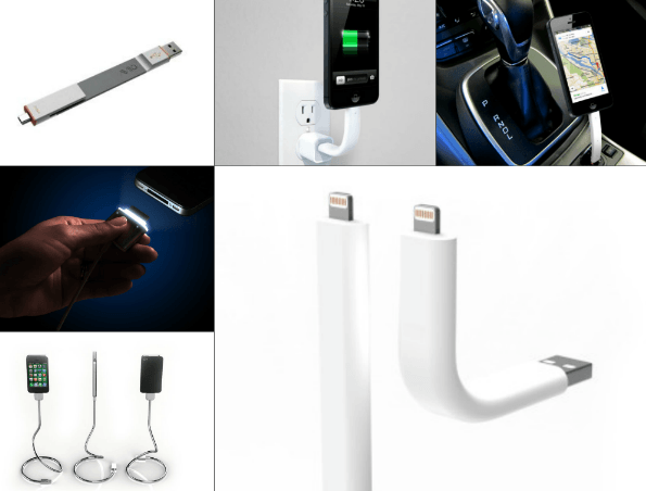 Trunk: Flexible Cable / Stand for iPhone 5