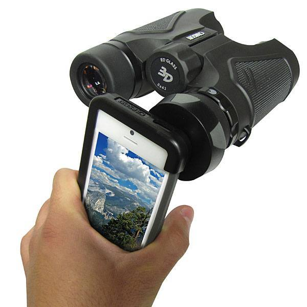 Binocular Adapter For iPhone 5, Arriba! Charger for iPhone