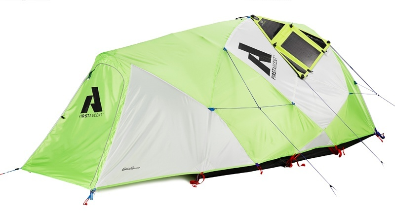 power katabatic solar tent