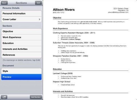 How To Prepare Your Resume on iPhone: 4 Resume Apps