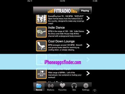 8 workout music apps for iphone. Black Bedroom Furniture Sets. Home Design Ideas
