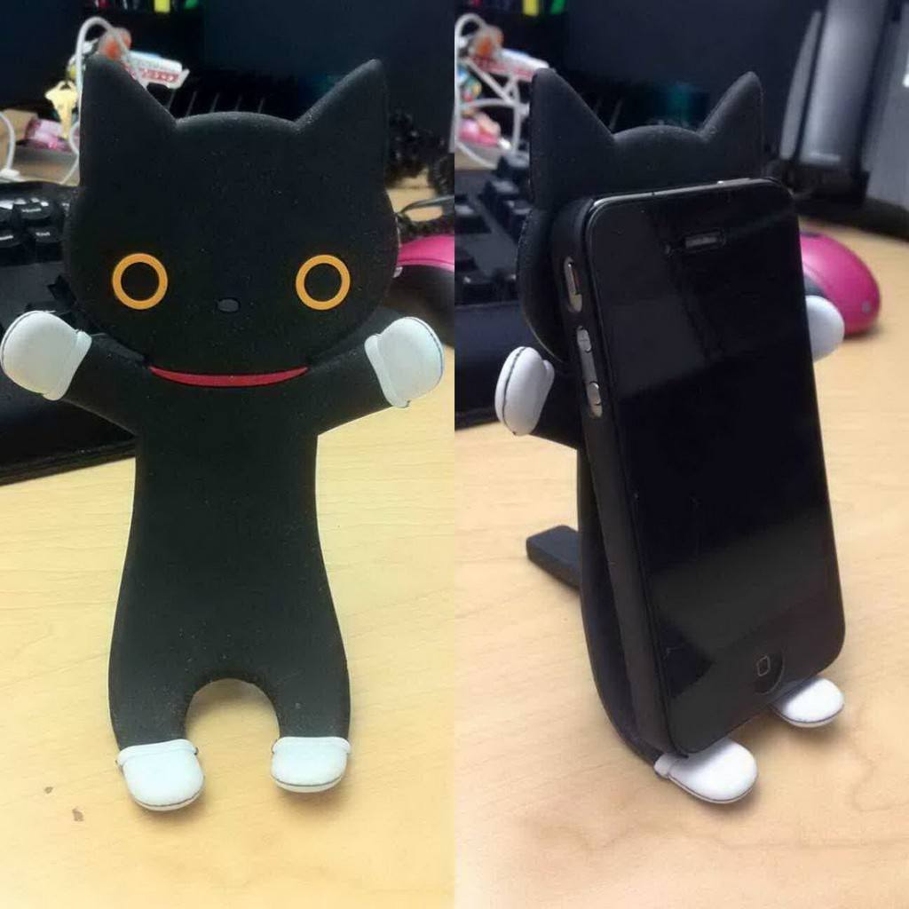 iphone cat stand