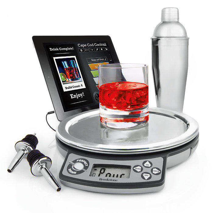 6 awesome iphone enhanced smart kitchen products iphoneness for Perfect drink pro scale