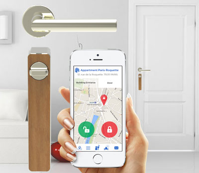ENTR: A Smart Door Lock With Smartphone And Tablet Control. It Comes With  At Touchpad, Fingerprint Reader And Remote. Just Replace Your Old Door  Cylinder, ...