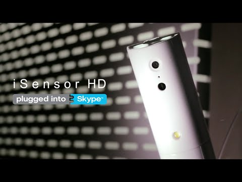 Isensor Hd Compact Portable Security Camera Ios Android