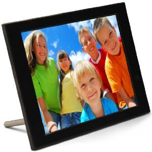 pix star pxt510wr02 104 inch fotoconnect frame lets you send photos by e mail on your mobile phone it has 2 gb storage space and supports usb sticks - Wifi Digital Photo Frame