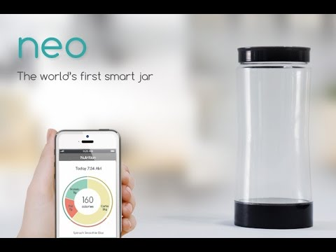Neo The Smart Jar For Your Smart Kitchen
