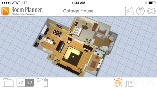 Room Planner: Lets You Create Floor Plans And 3D Models On Your IOS Device.  You Get A Library Of Objects To Use. It Is Compatible With The Disto  Distance ...