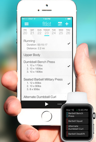 8 gym log apps for iphone ipad