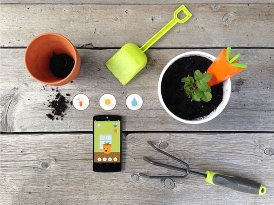 5 app enabled indoor gardening systems iphoneness grt a gardening kit for kids it has sensors and an app to show your children how to take care of their plants workwithnaturefo