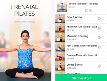 5 Pregnancy Workout Apps For IPhone IPad
