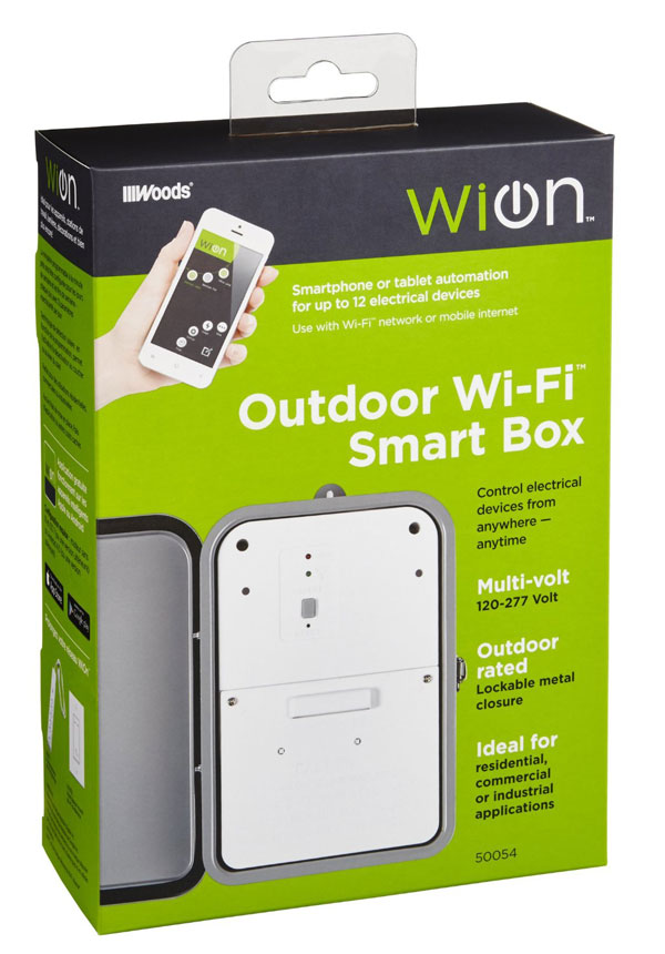 WiOn: Outdoor WiFi Smart Box [iOS / Android] - iPhoneNess