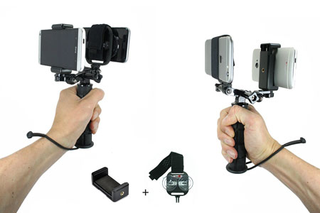Action-Mount-Dual-Device-Holder