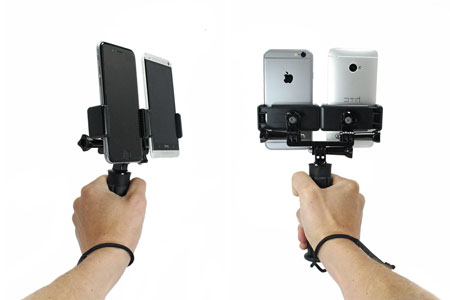 Livestream-Dual-Device-Holder