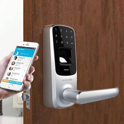Ultraloq Ul3 Bt Bluetooth Enabled Smart Lock