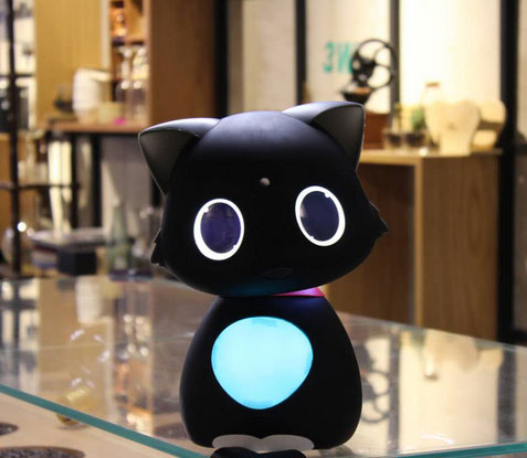Matebot: App Smart Personal Assistant Robot Cat