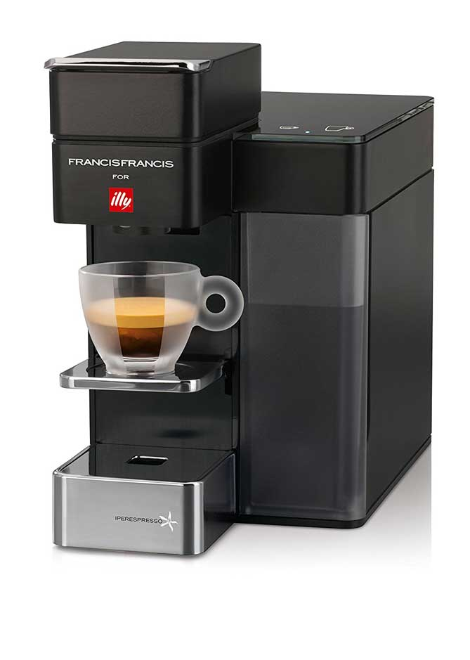 Coffee Maker That Works With Iphone : Illy Y5 Smart Coffee Machine with Amazon Dash - iPhoneNess