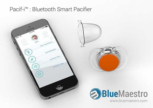 Pacif I App Smart Pacifier Thermometer