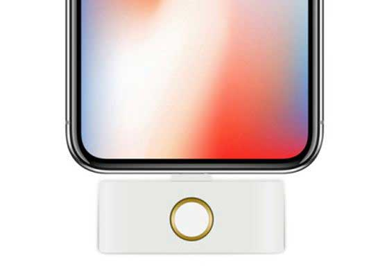 iphone x home button amp audio jack adapter   iphoneness