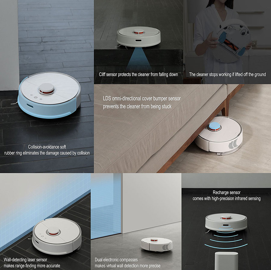 Roborock S5 Robotic Sweep Mop Cleaner With Wifi